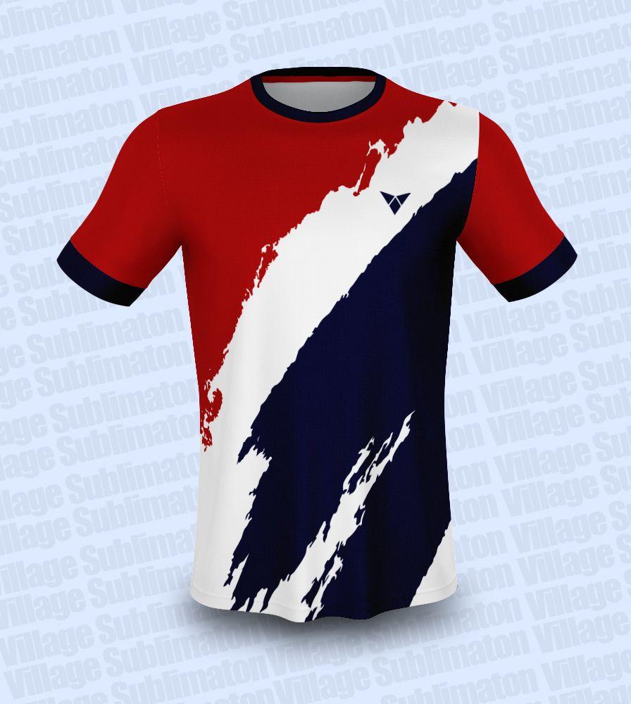 Download Sky Blue Red Navy Blue Soccer Jersey Design Jersey Design Sports Tshirt Designs Football Jerseys