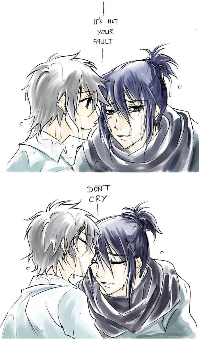 no. 6 anime NO.6 Fanart Not your Fault, Don't Cry by