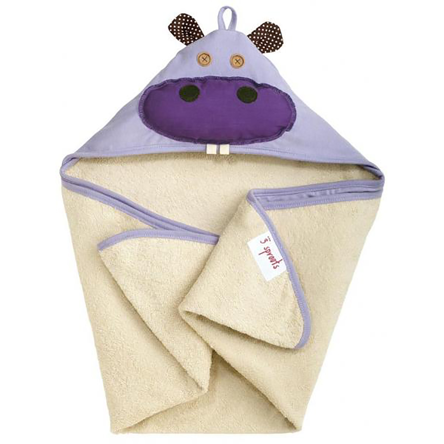 3 Sproust Accappatoio Hippo Fate E Folletti Baby Shop Online Nero Sprouts Hooded Towel The Lavender Is Just One More Way To Get Your Child Looking Extra Adorable