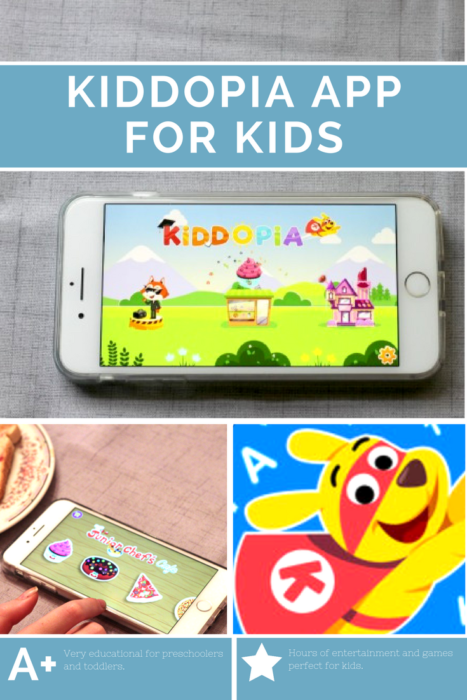 An entertaining & educational app for preschoolers