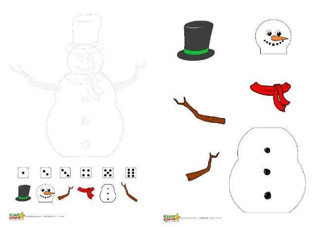 image about Printable Snowmen Pictures identify Roll a snowman; Free of charge winter season printable Language Snowman