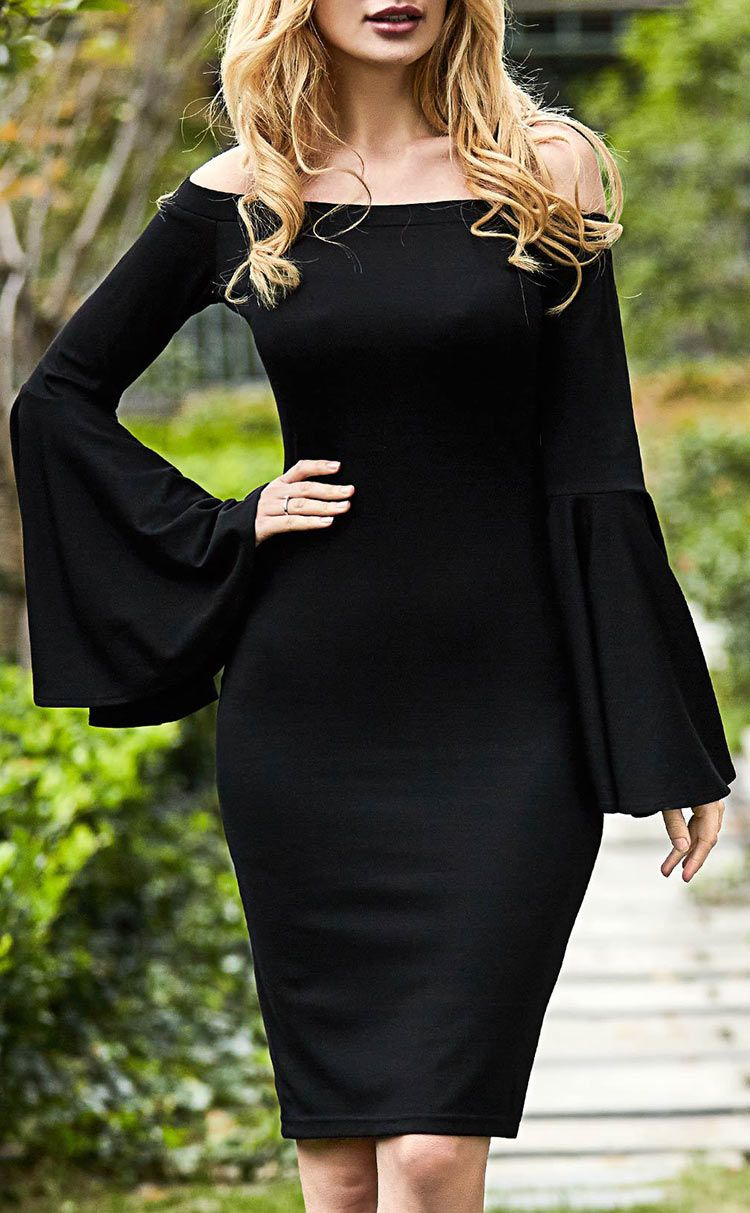 21282a89cd Curvy Girls Must-have! Free shipping Now! This slim midi dress ...