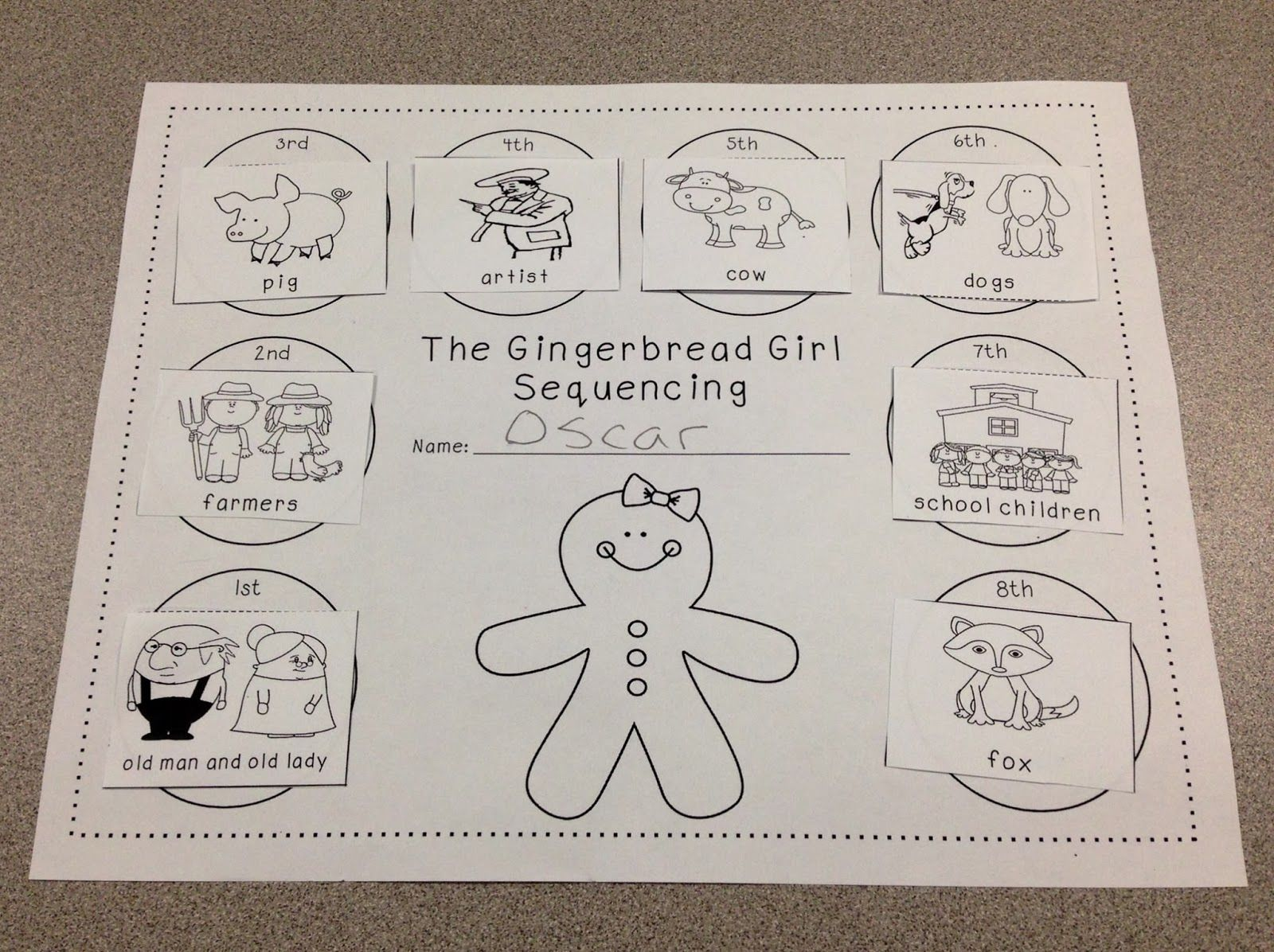 A Spoonful Of Learning Gingerbread Man Gingerbread Man Kindergarten Gingerbread Man Activities Gingerbread Girl Activities