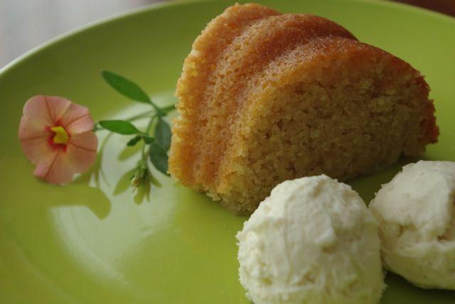 Lime Cake a.k.a. Sunshine on a Plate