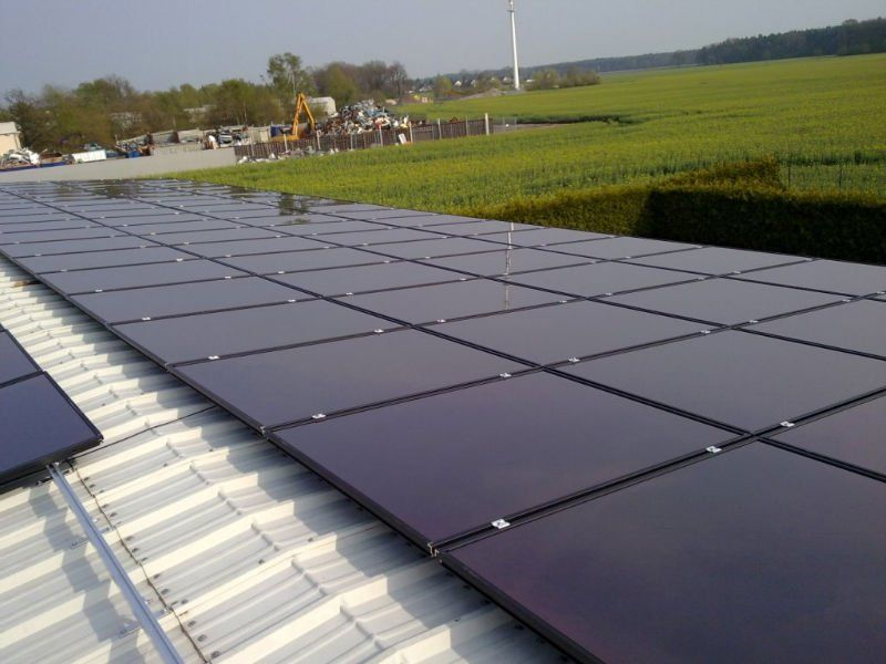 100w Amorphous Silicon Thin Film Solar Panel View Thin Film Amplesun Product Solar Solar Panels Solar Pv Panel