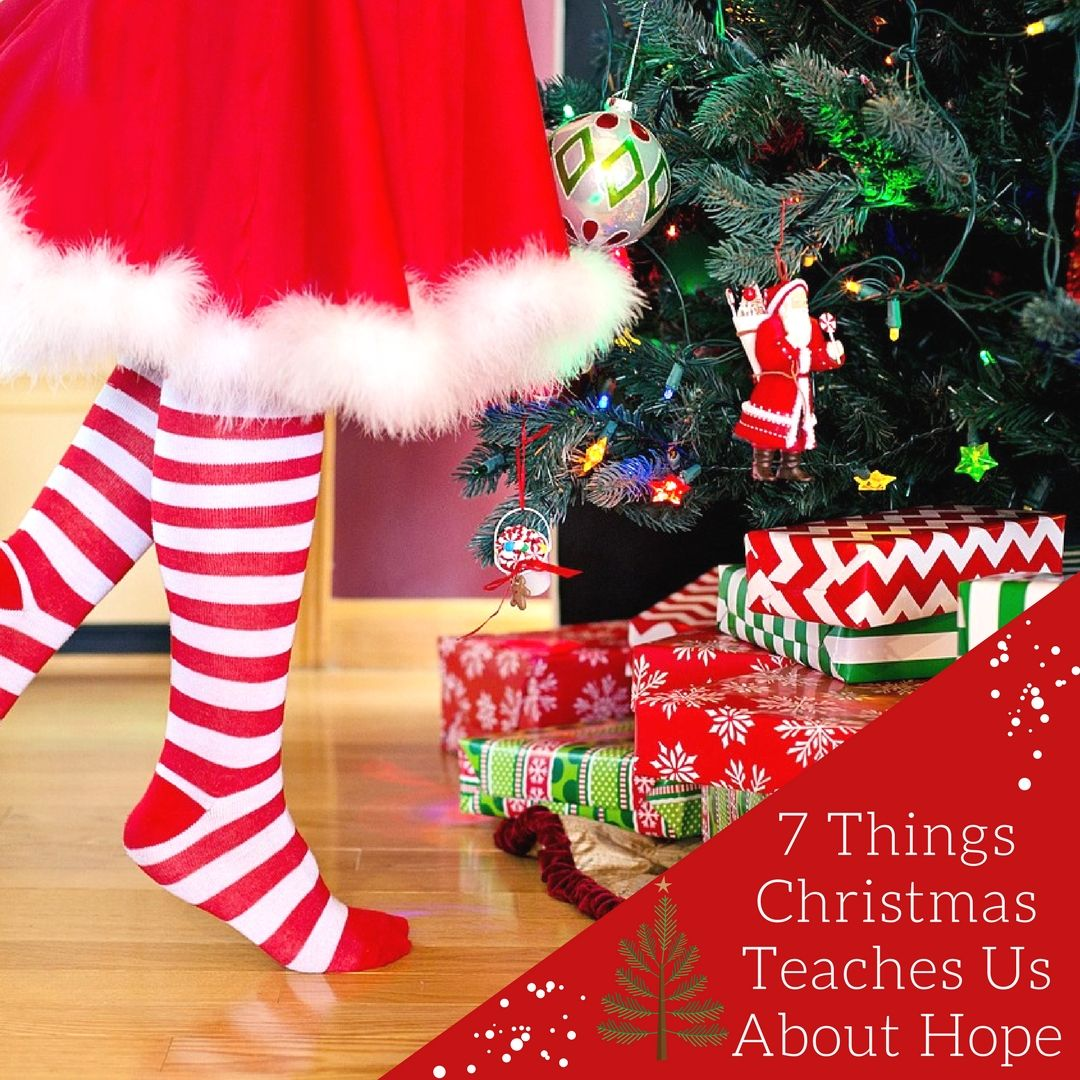 7 Things Christmas Teaches Us About Hope With Images Christmas
