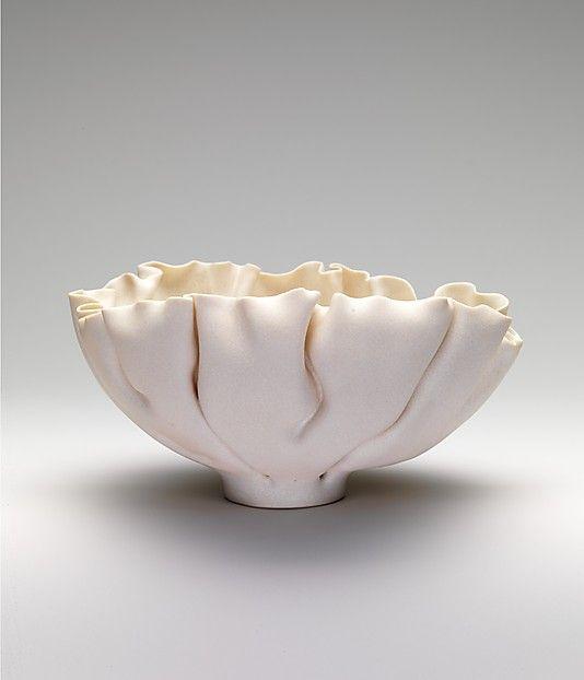 The Edges Artist Mary Rogers Porcelain Ceramics Pottery Bowl