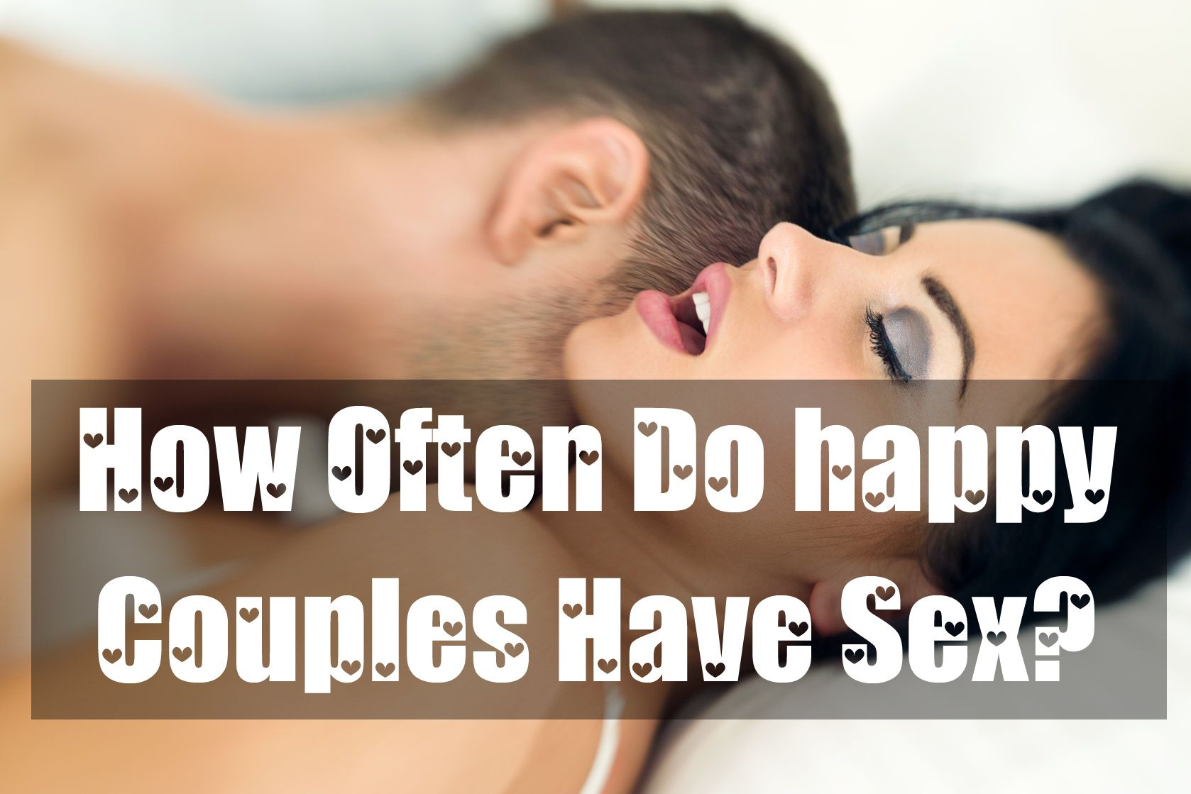 How often do dating couples have sex