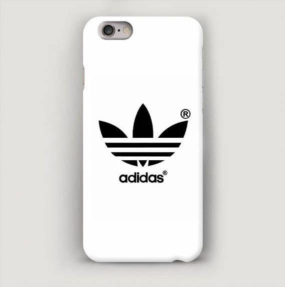 online store 36700 bd595 White iPhone X Case, Adidas iPhone 8 Plus Case, iPhone 7 Case ...