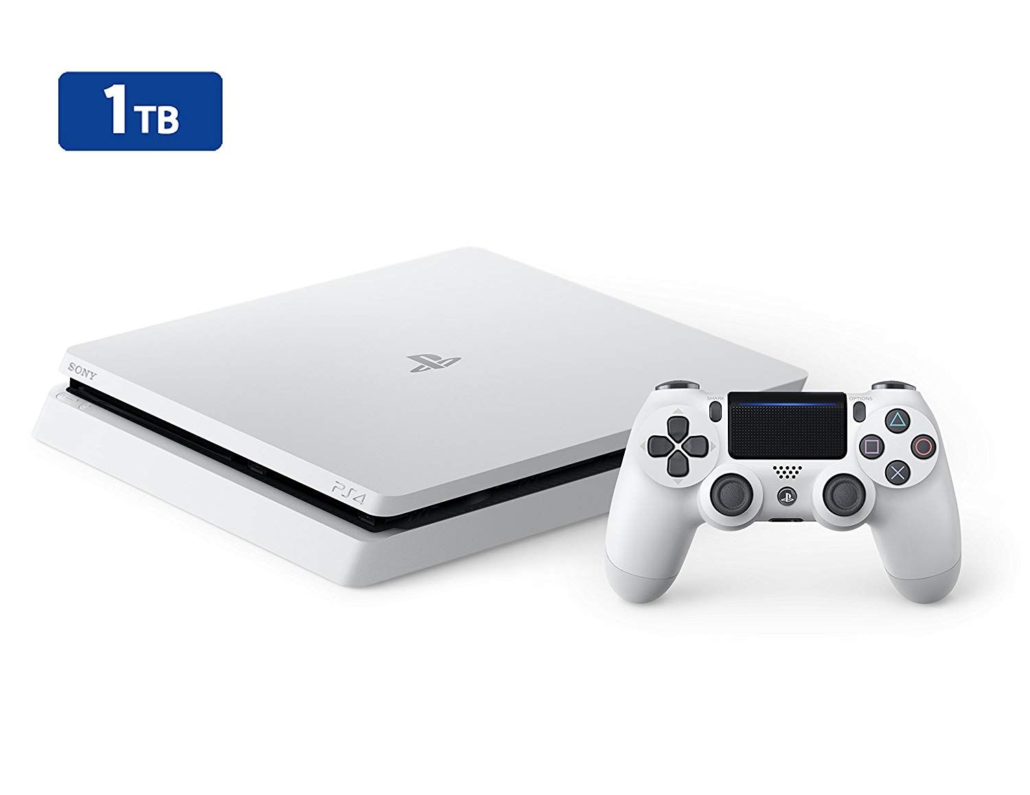 Ps4 Slim 1tb Wei Playstation 4 Konsole Inkl 1 Sony Tb Cuh 2016b