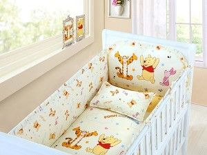 Winnie The Pooh Crib Bedding Set Baby Bedding Sets Baby Cot