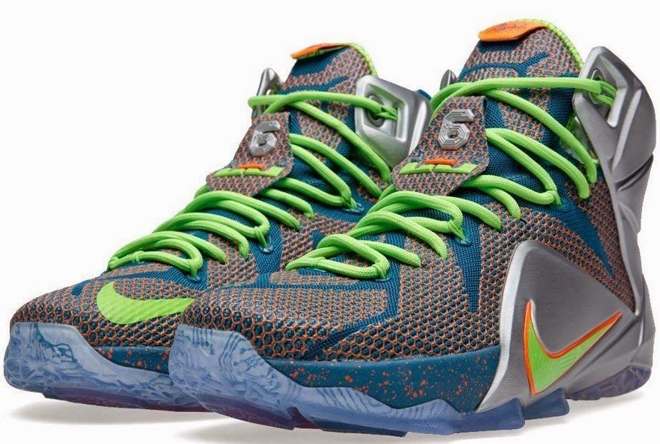THE SNEAKER ADDICT  Nike Lebron 12 Trillion Dollar Man Sneaker 6ecea49b67