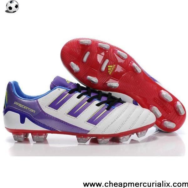 póngase en fila mapa corte largo  2013 New Adidas Predator XI TRX FG Boots White Purple Red Soccer Boots  Store   Nike soccer shoes, Purple sneakers, Soccer boots