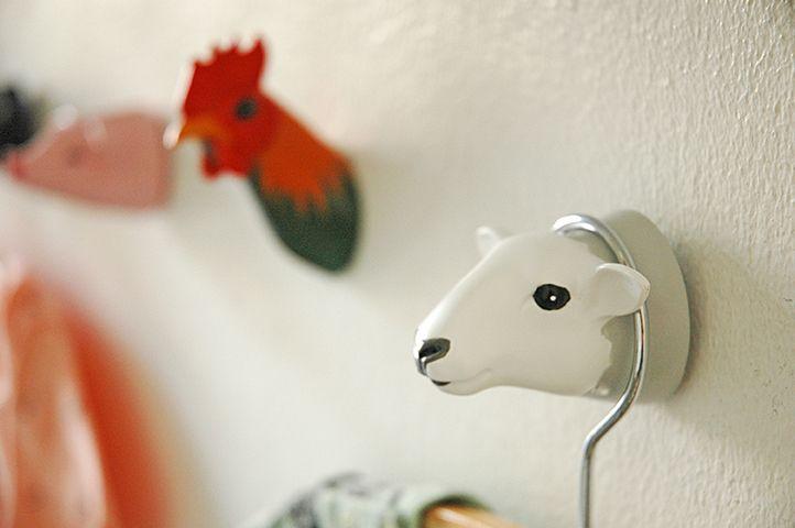 SHEEP. Coathook. Design: Jorine Oosterhoff