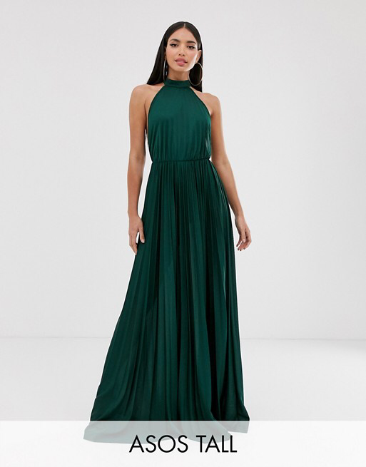 10+ Asos design high neck pleated maxi dress ideas in 2021