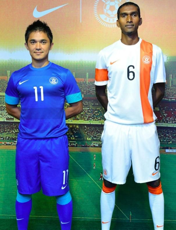 fa7f9b70d India Football Kit 2013 2014- Nike