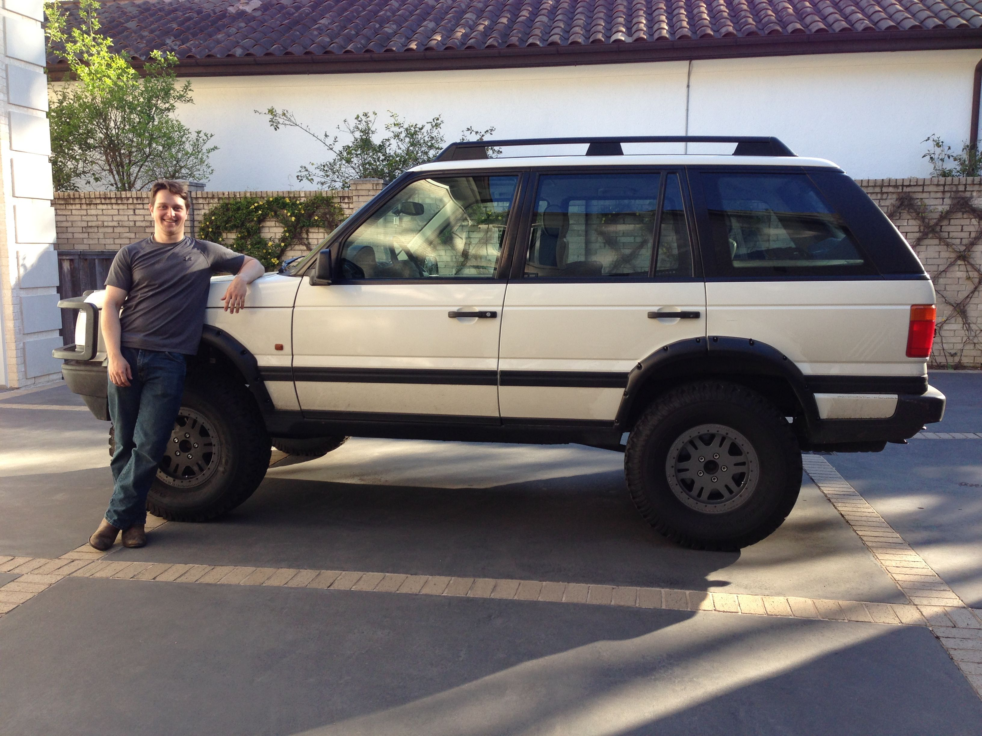 hight resolution of matt with his evolving 1999 range rover hse 4 6