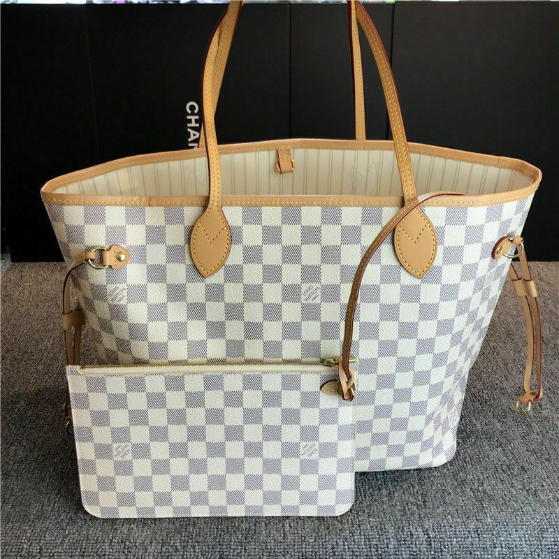 0c6ea42606b Louis Vuitton Neverfull MM Damier Azur Canvas with Beige Lining #fashion  #clothing #shoes #accessories #womensbagshandbags (ebay link)