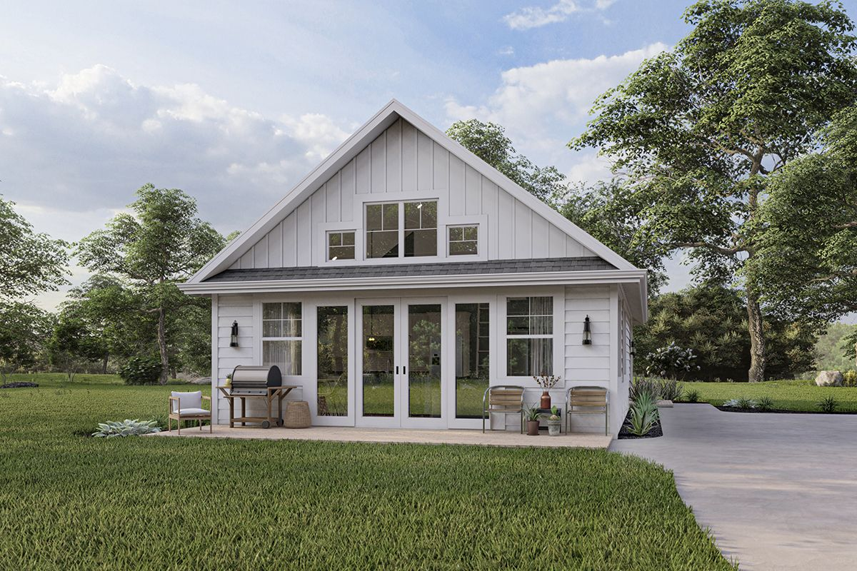 Modern Farmhouse House Plan 1462