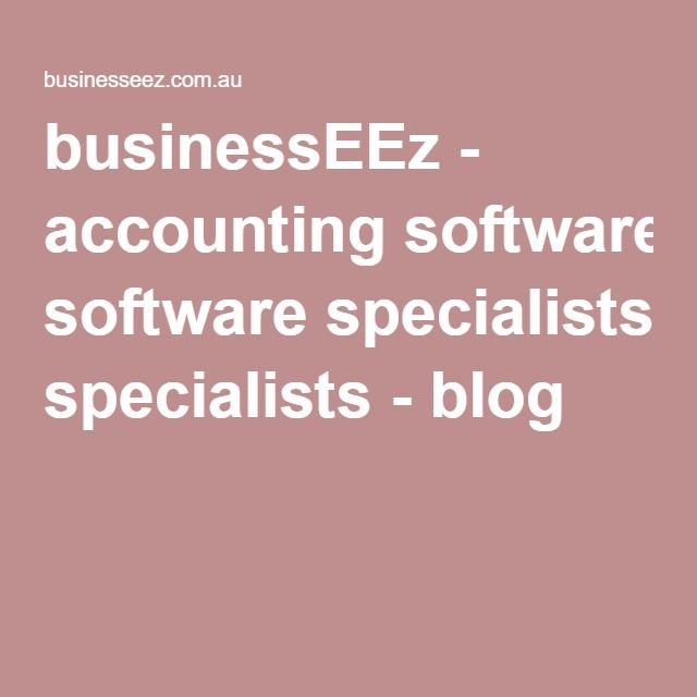 businessEEz - accounting software specialists - blog
