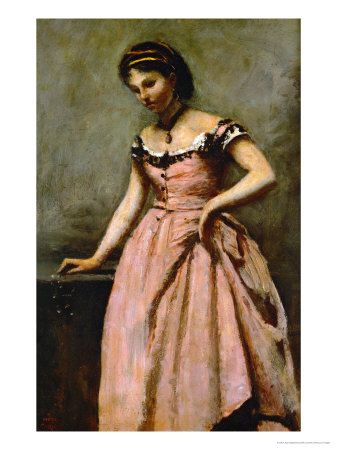 Favorite painting:  Girl in Pink Dress, Corot.
