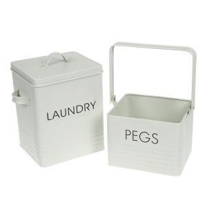 Got It Aldi Laundry Powder Peg Tin Set Laundry Pegs Laundry