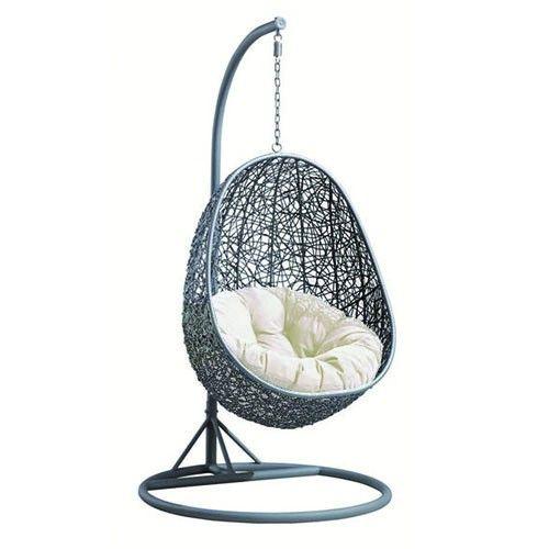 milan direct avalon pe rattan hanging egg pod chair home