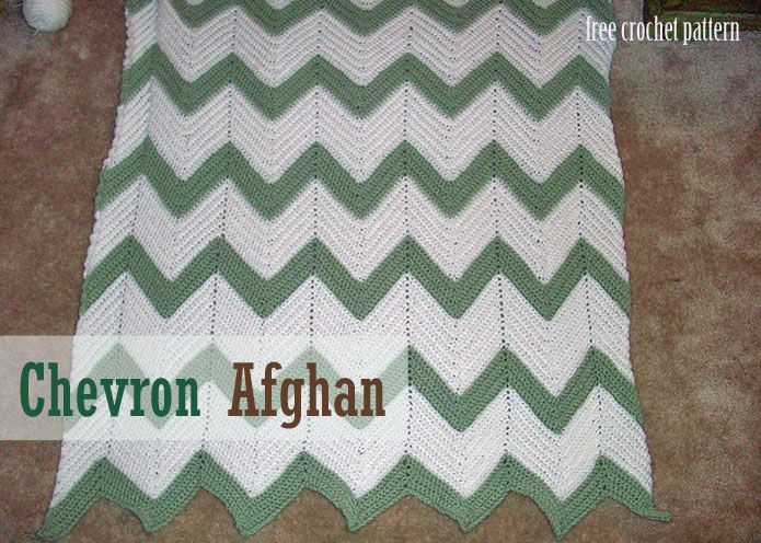 crochet team chevron sports pattern   chevron afghan chevron afghan ...