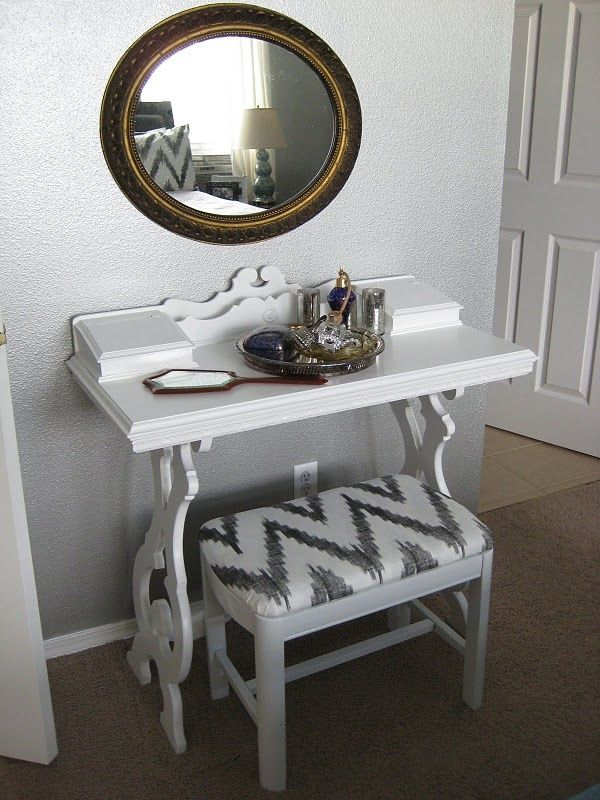 I Really Need A Space Like This In My Room: My Makeup Station.