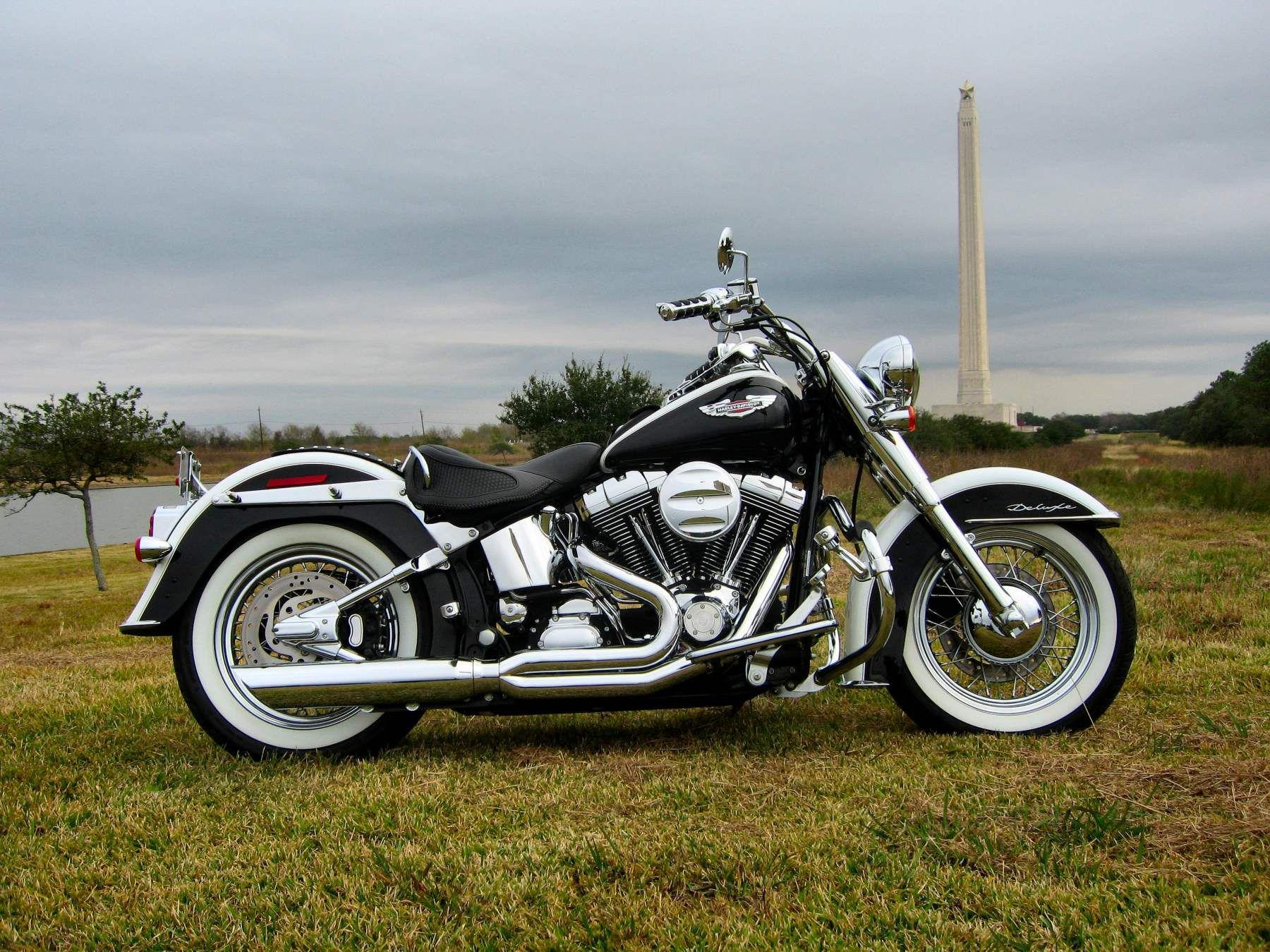 Pin Em Harley Davidson Softail Deluxe [ 1350 x 1800 Pixel ]