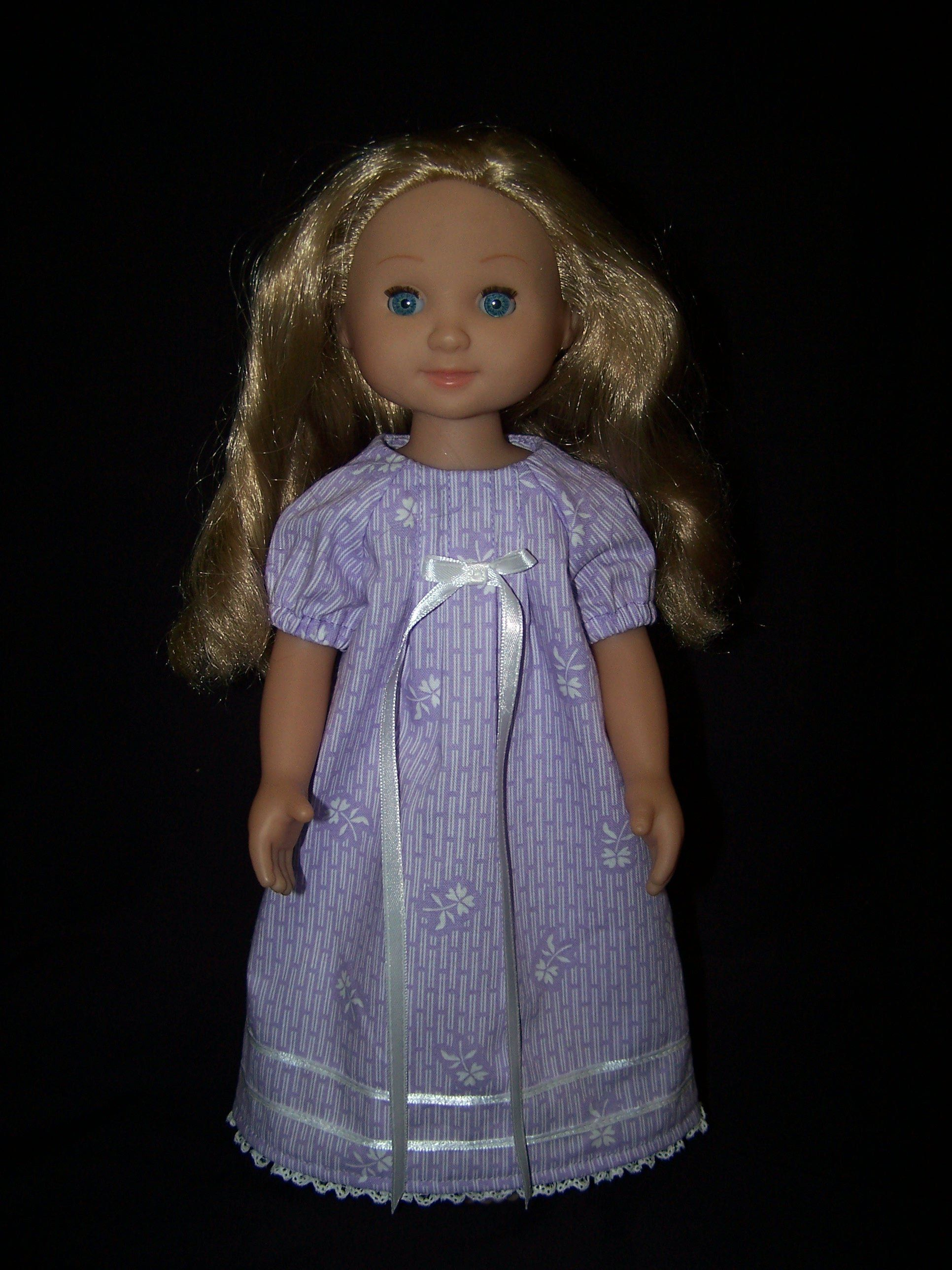 Nightgown For 14 5 Inch Dolls Like Wellie Wisher Mine To