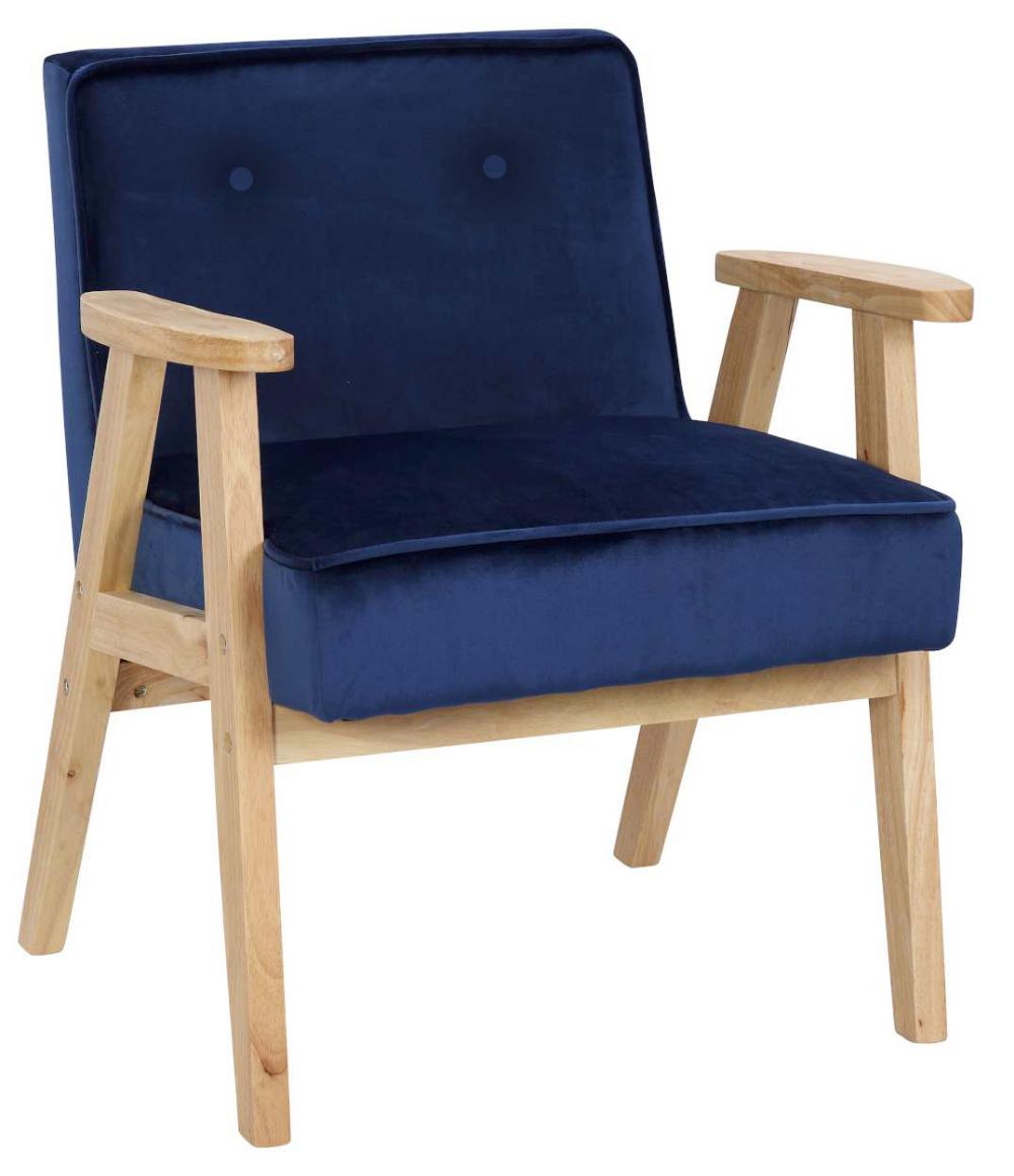 Fotel Vintage Memo Plus Velvet Granatowy Ehokery Pl Tanie Hokery Krzesla Fotele Outdoor Chairs Chair Furniture