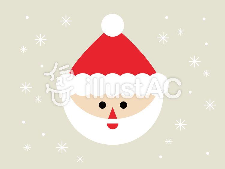 サンタクロース 無料素材 イラスト かわいい おしゃれ シンプル ベクター クリスマス サンタ 商用利用 イラストac フリー サンタクロース イラスト サンタクロース イラスト