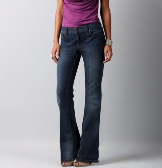 Petite Weekend Blue Wash Original Boot Cut Jeans from LOFT $59.50