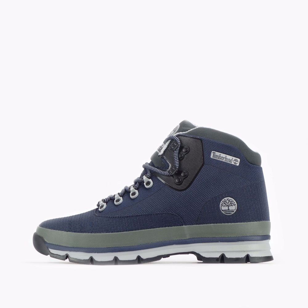 82b5970e6a2 Timberland Euro Hiker Mid Jacquard Men s Hiking Boots Navy  Timberland   CasualBootsShoes  CasualHiking