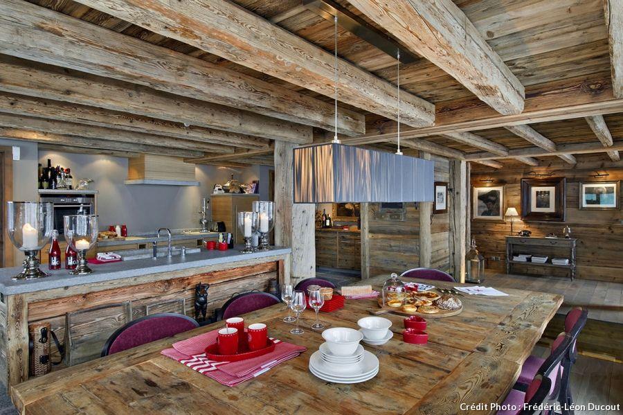 Chalet Suisse Avec Cuisine