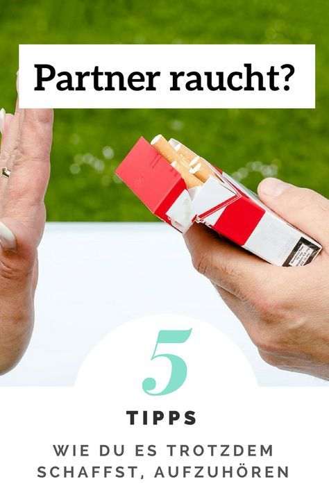 Rauchstopp: So kannst du deinem Partner helfen | Sprühen NicoZero 2021