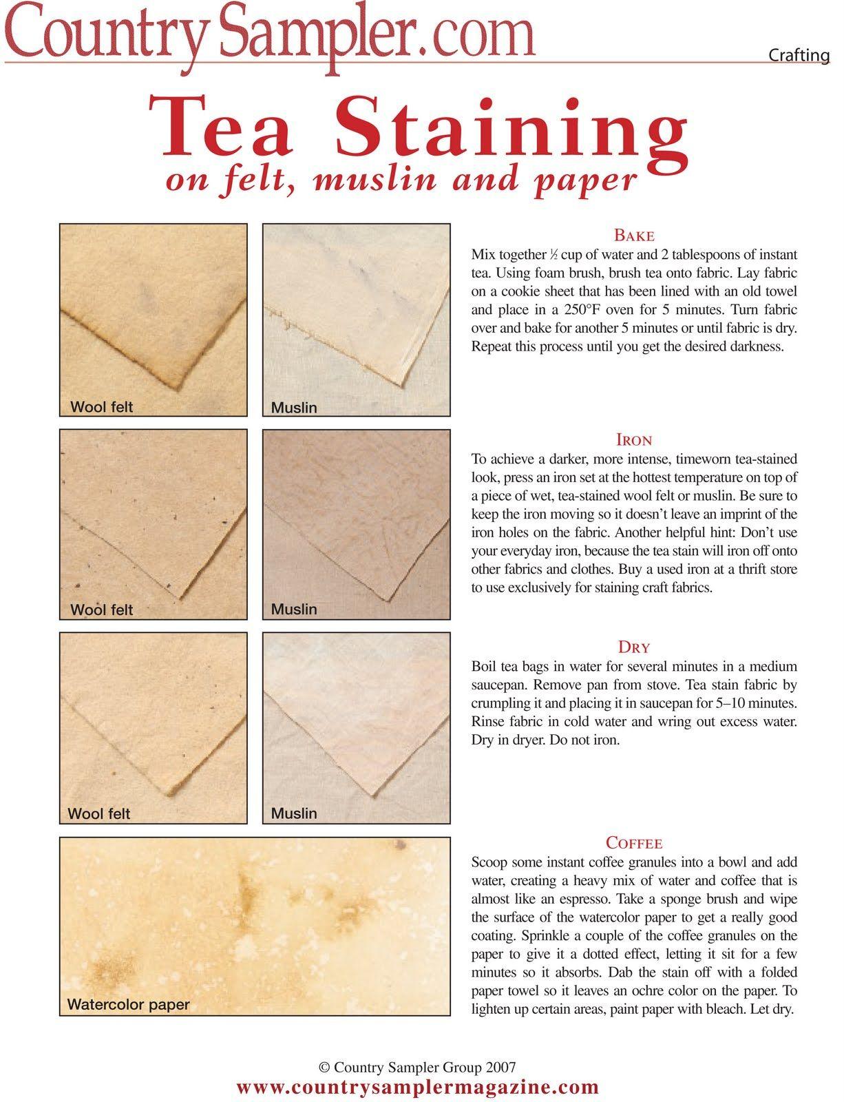 The Urban Scrapbook Inc Tea Diy Crafts Country Sampler