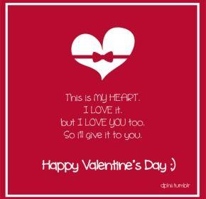 Valentines Day Quotes Tumblr Valentine S Day