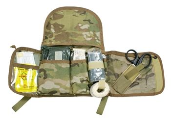 S O Tech - VIPER Flat IFAK Pouch -- When stowed in cover