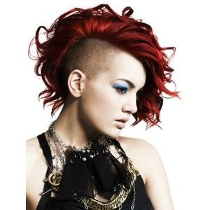 Gorgeous Undercut Medium Hairstyle Punk Girl Hairstyles Pictures
