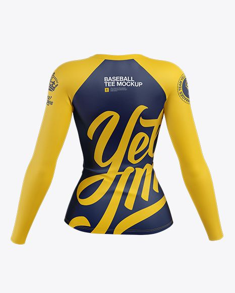 Download Women S Baseball T Shirt With Long Sleeves Mockup Back View In Apparel Mockups On Yellow Images Object Mockups In 2020 Clothing Mockup Shirt Mockup Womens Baseball T Shirts
