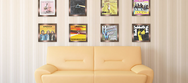 Great Ideas for displaying records and album cover art | Decor ideas ...