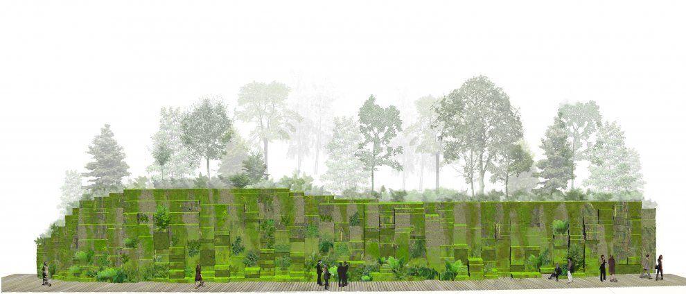 *지속가능한 건축 그리고 그린 네트워크 [ SEMPERVIRENS ] Tokyo French Embassy :: 5osA: [오사]