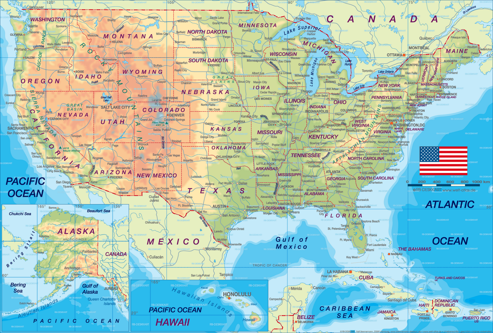 Printable Map Of USA Area Detailed California Map Cities Town - Us map cities and towns