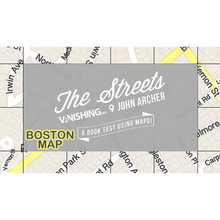 The Streets (Boston Map) by John Archer and Vanishing Inc. - Trick