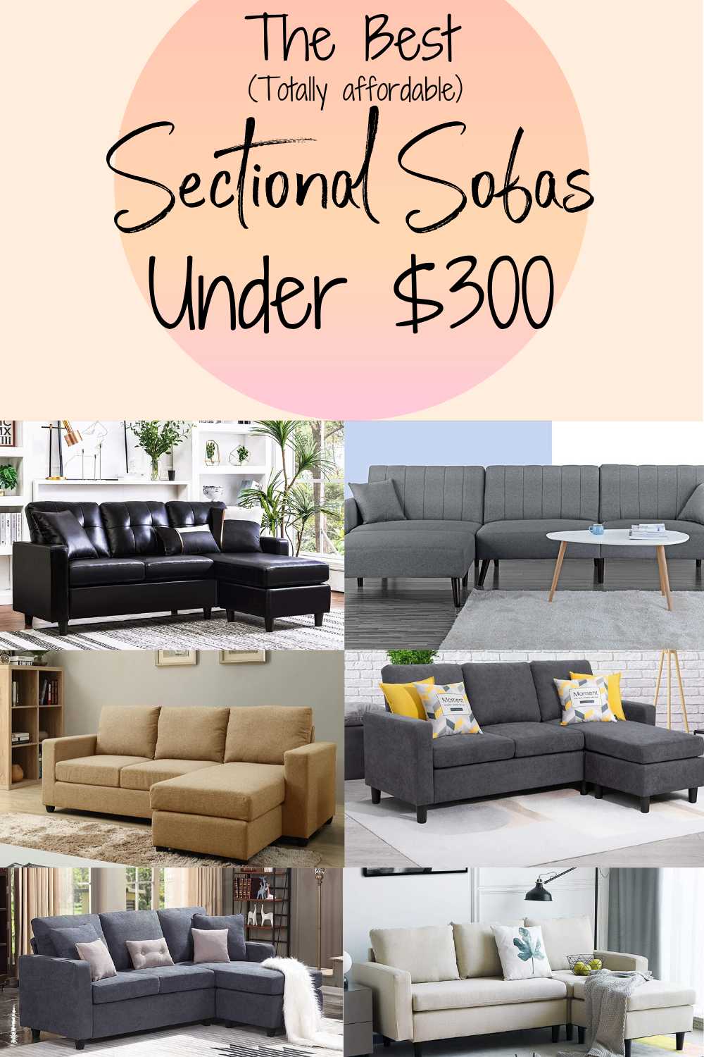 Tiny Home Living Requires Small Furniture That Can Accommodate Tiny Spaces We Found The Best Sectional Sofas Under 300 That Work Wel