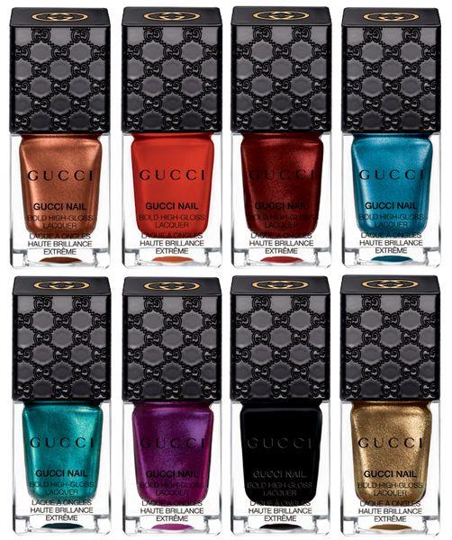 Глянцевый лак для ногтей Bold High-Gloss Lacquer