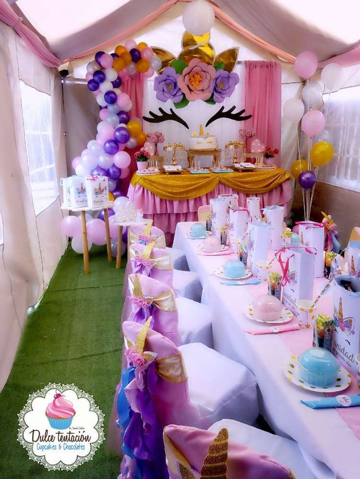 DIY Unicorn Party Headbands in 2020 Unicorn birthday