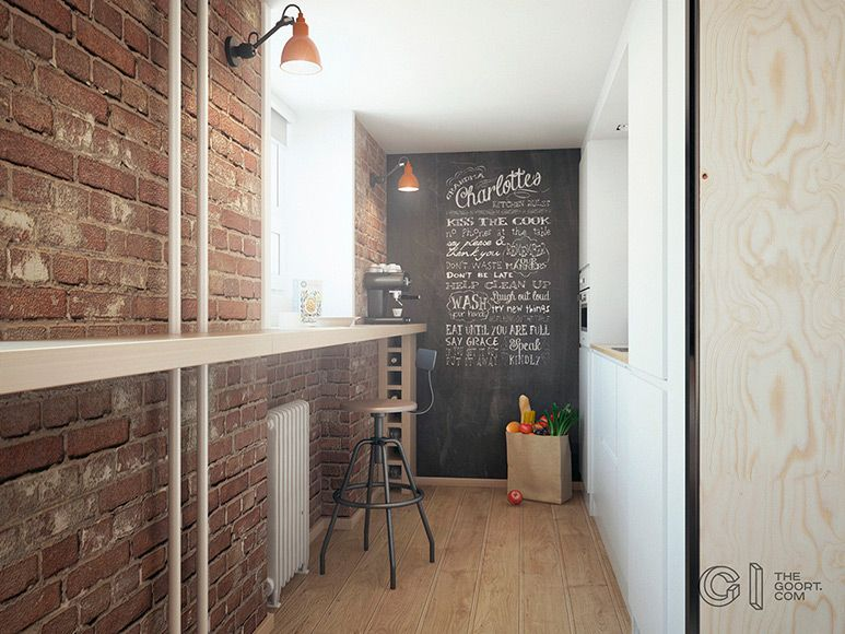 Compact Living:: Haruki's Apartment by The Goort #compactliving